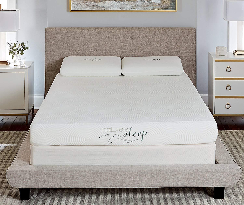nature's sleep, foam mattress, firm, inexpensive, cheap, gel,