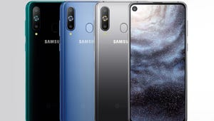 That Hole In The New Samsung Phone Is Actually A Camera