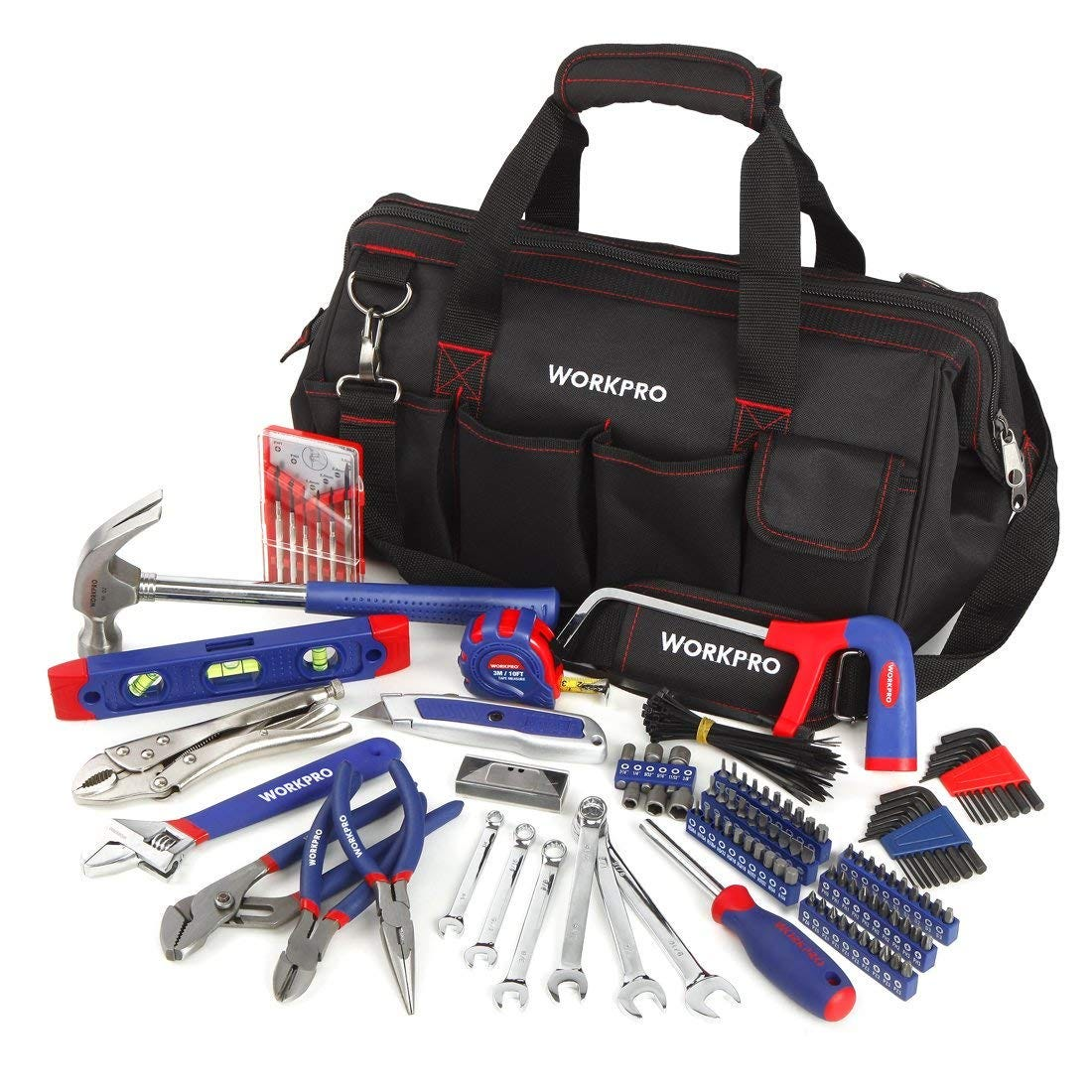 workpro, tool bag, tool set, all in one