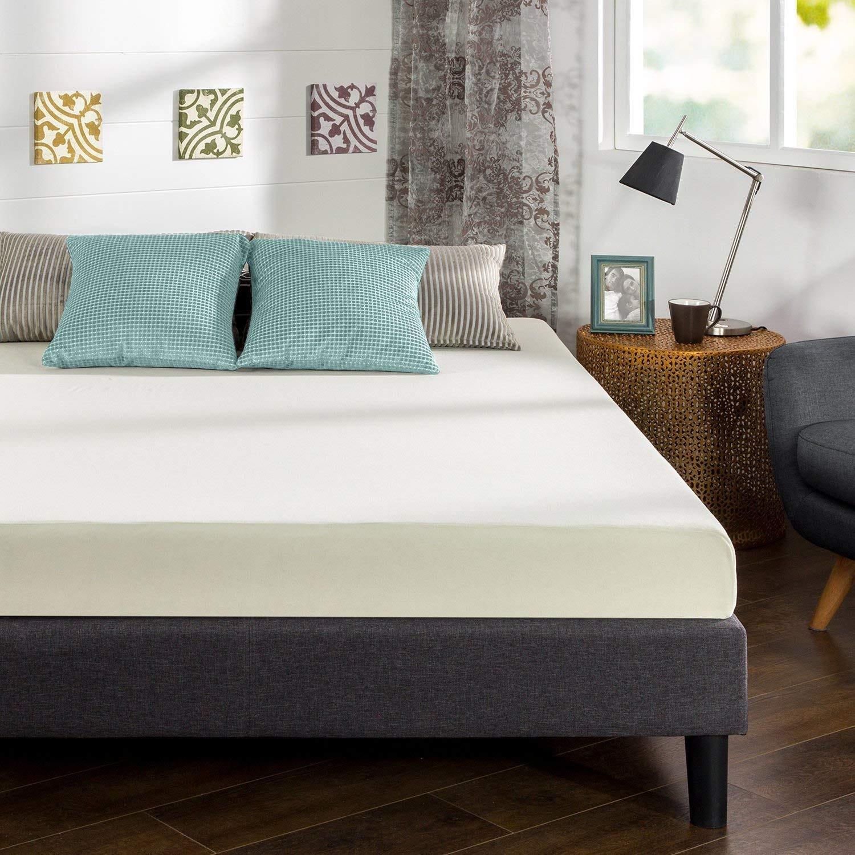 zinus, mattress, foam mattress, foam, inexpensive, cheap, ultima