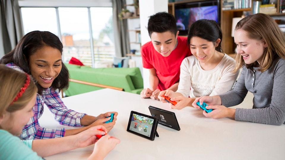 the best switch games to play with friends and family review geek