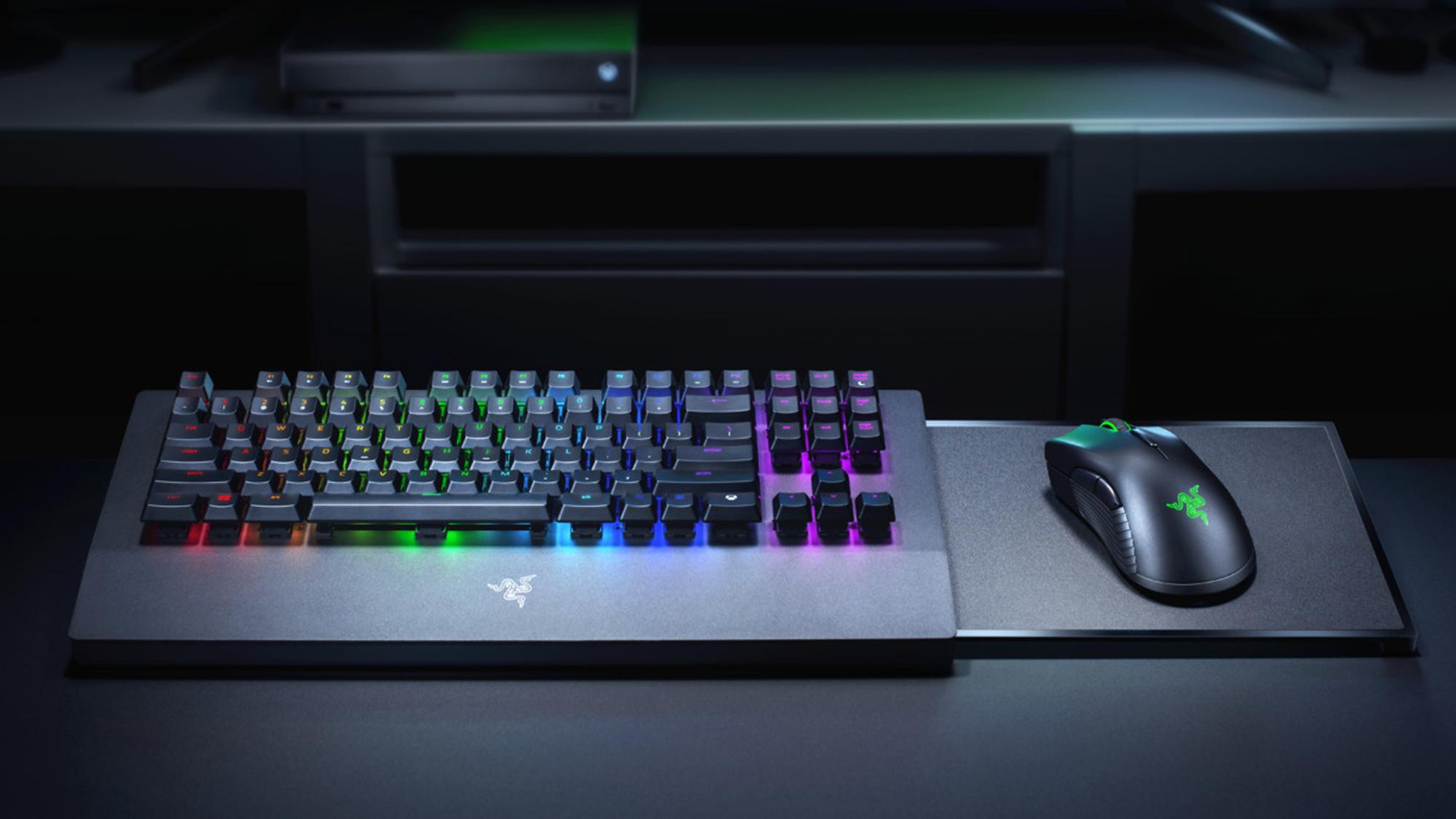 razer, turret, xbox, xbox one, mouse, keyboard, wireless