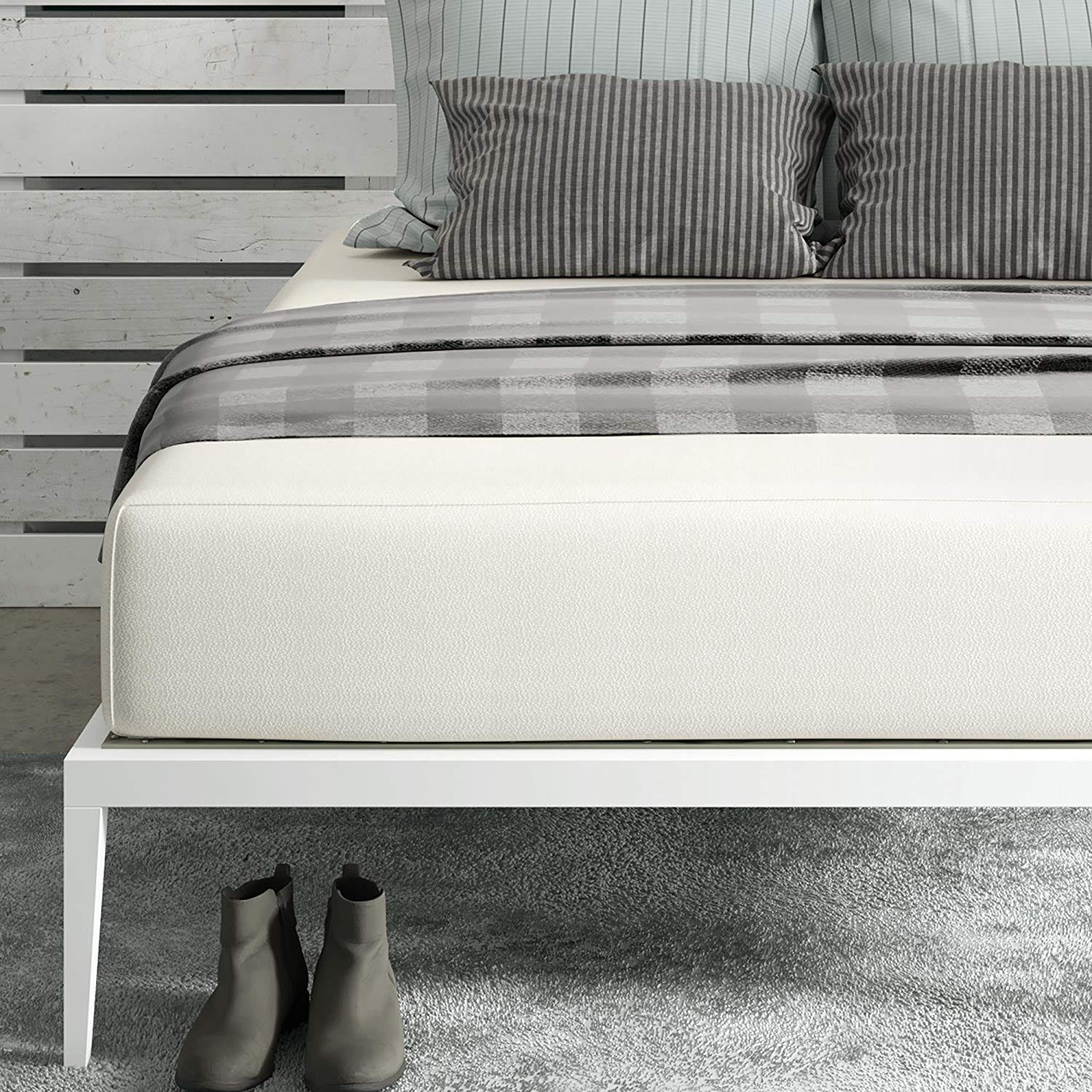 signature sleep, thick, foam mattress, 12-inch, foam mattress, inexpensive, cheap