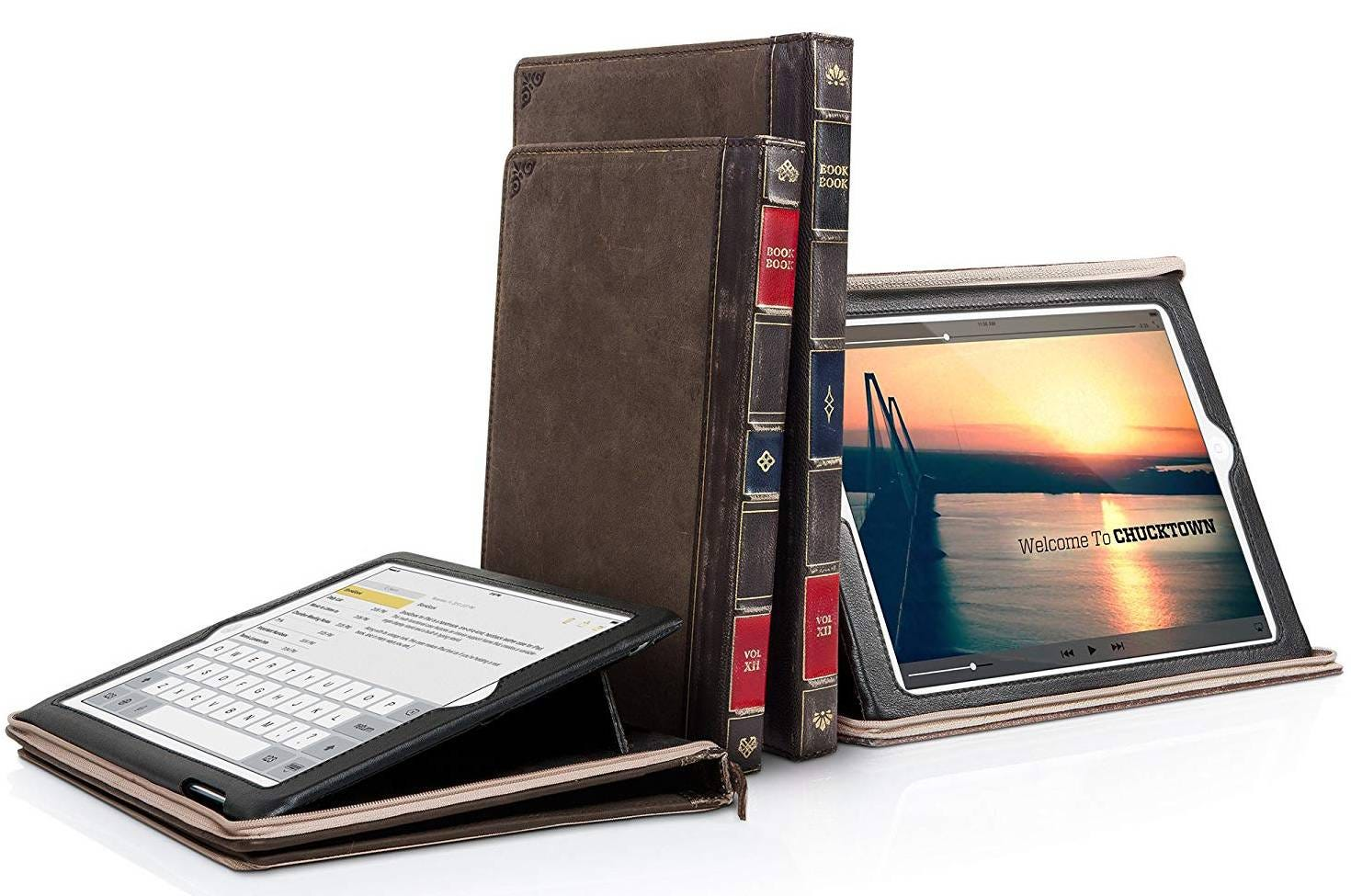 ipad, ipad case, leather, premium, twelve south, bookbook, book case