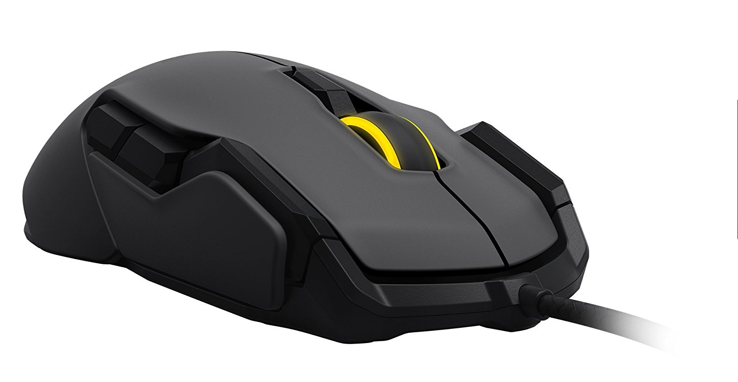 roccat, kova, left handed, ambidextrous, gaming, gaming mouse,