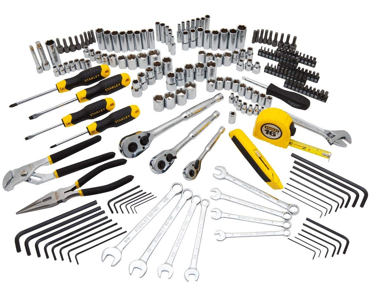 stanley, tool kit, tool set, all in one,