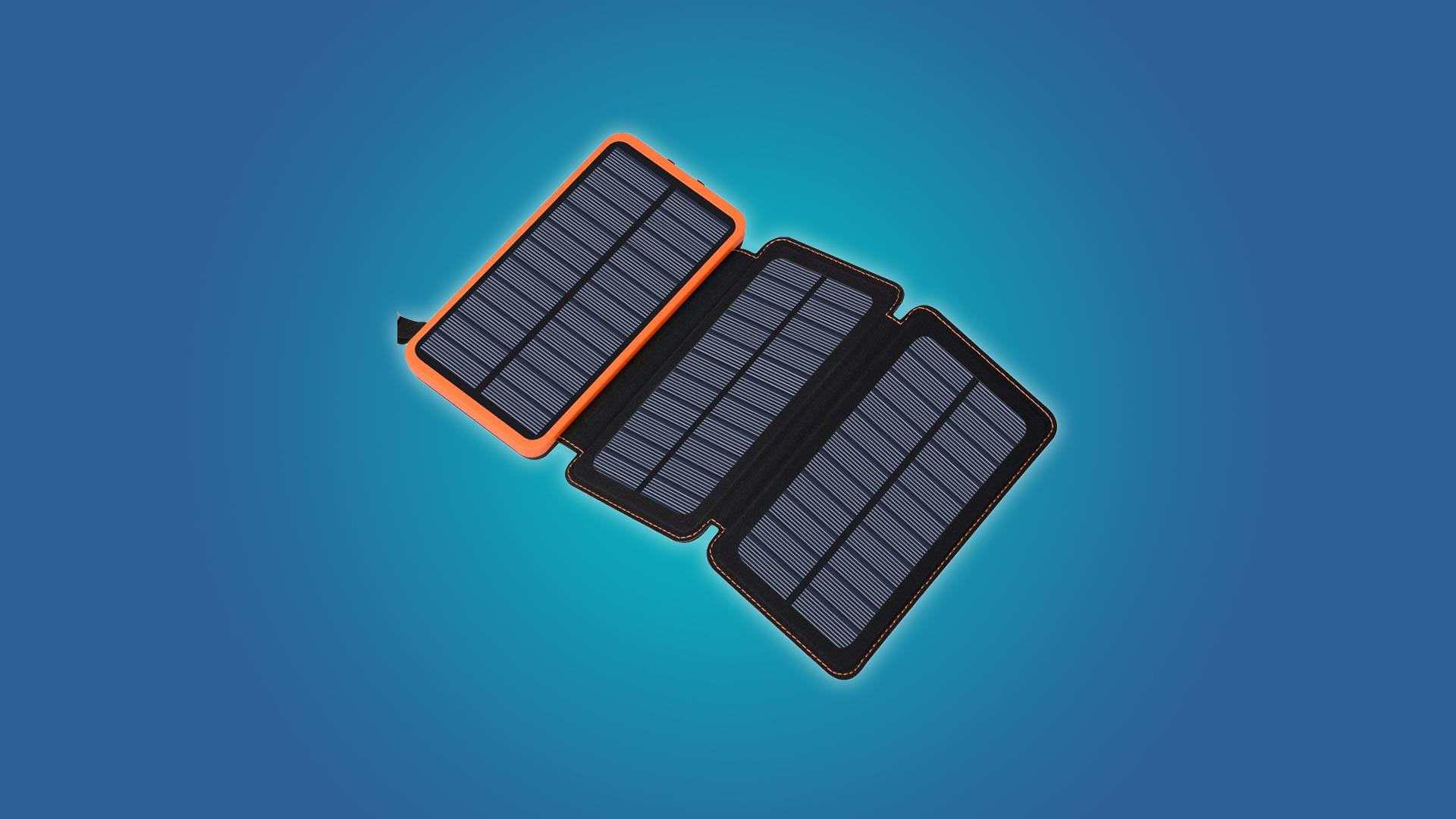 Die besten solarbetriebenen Akkus
