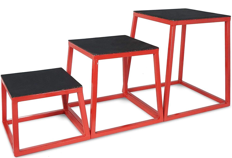 steel frame agility plyometric boxes
