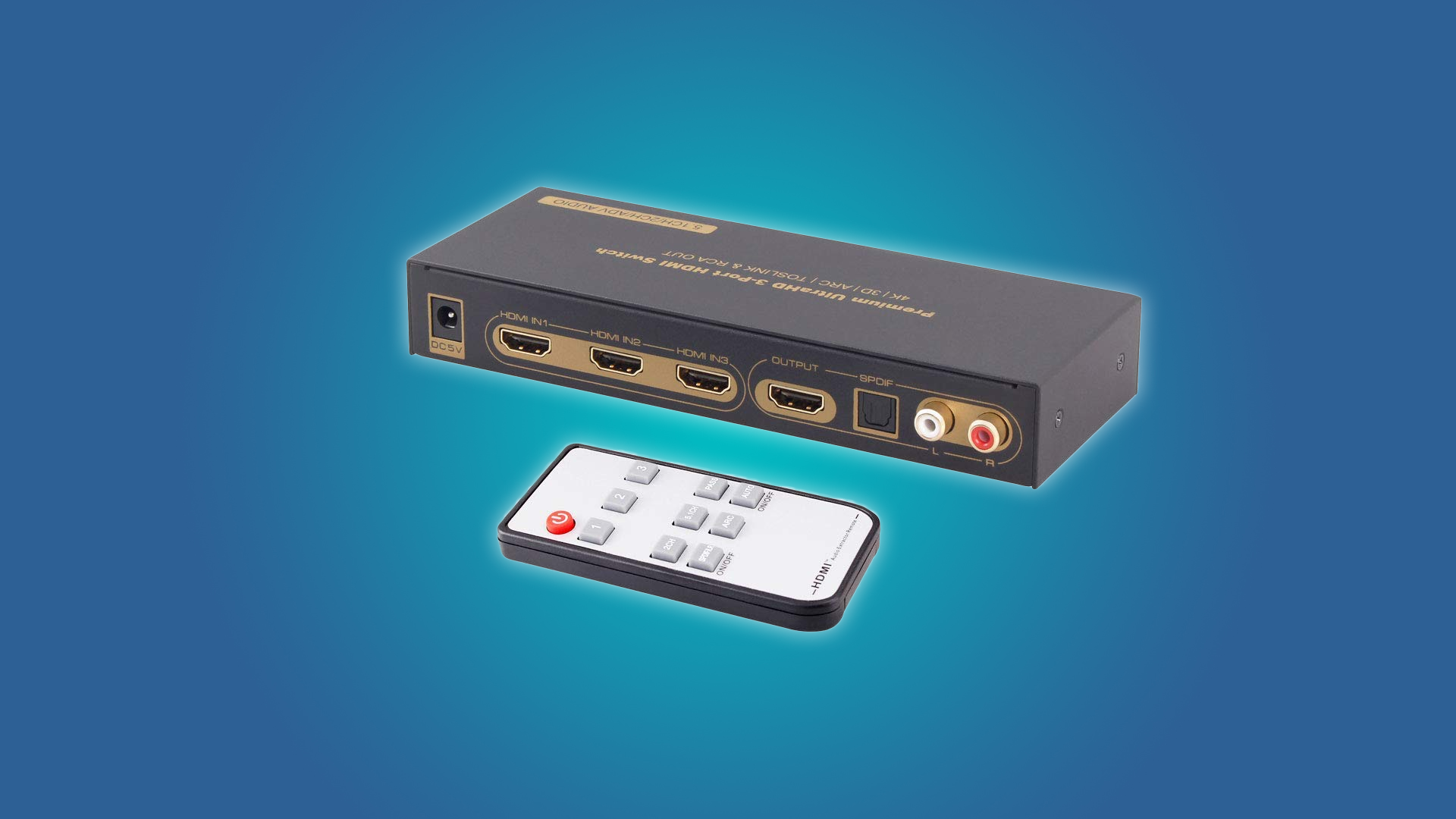 Add more hdmi ports to your tv with these switches hackers - How to add more hdmi ports to your tv ...