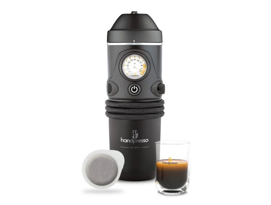 Handpresso automotive espresso maker