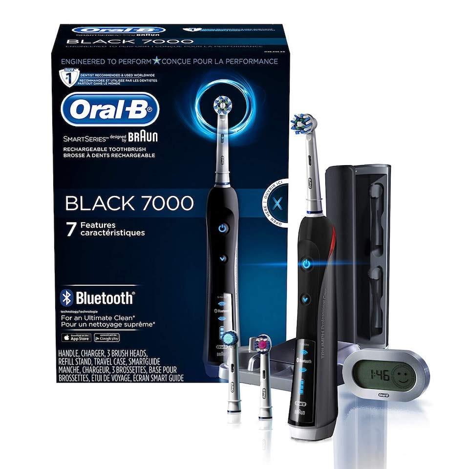 Oral-B 7000 black smart toothbrush