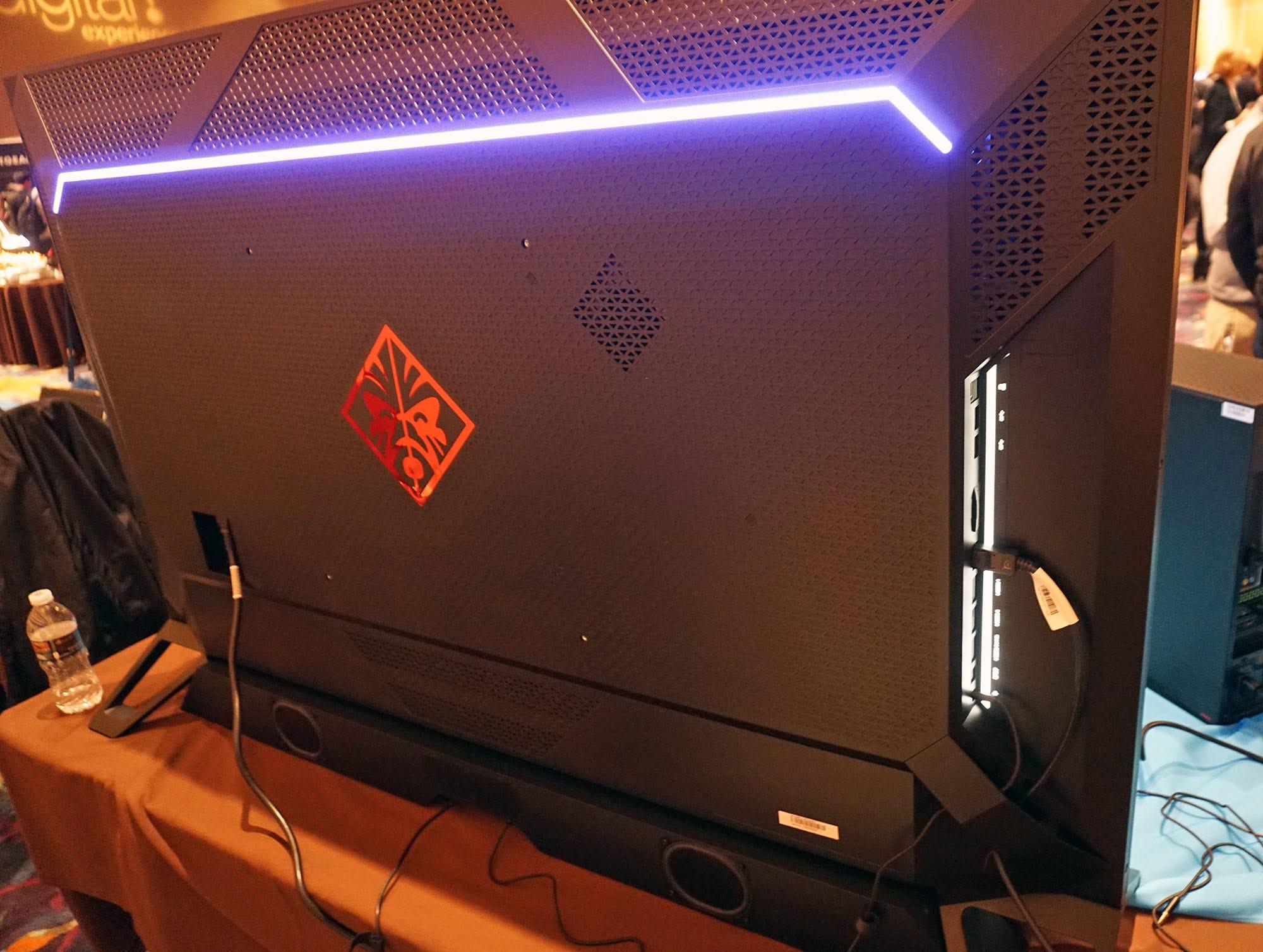 HP und NVIDIA Mit dem 5000-Zoll-Monitor (65 Zoll) haben Sie Ihren 5000-Dollar-Desktop verdient