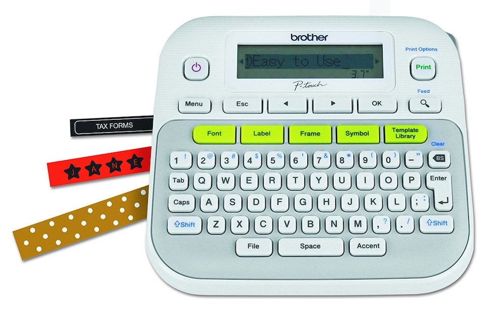 Brother P-touch PTD210
