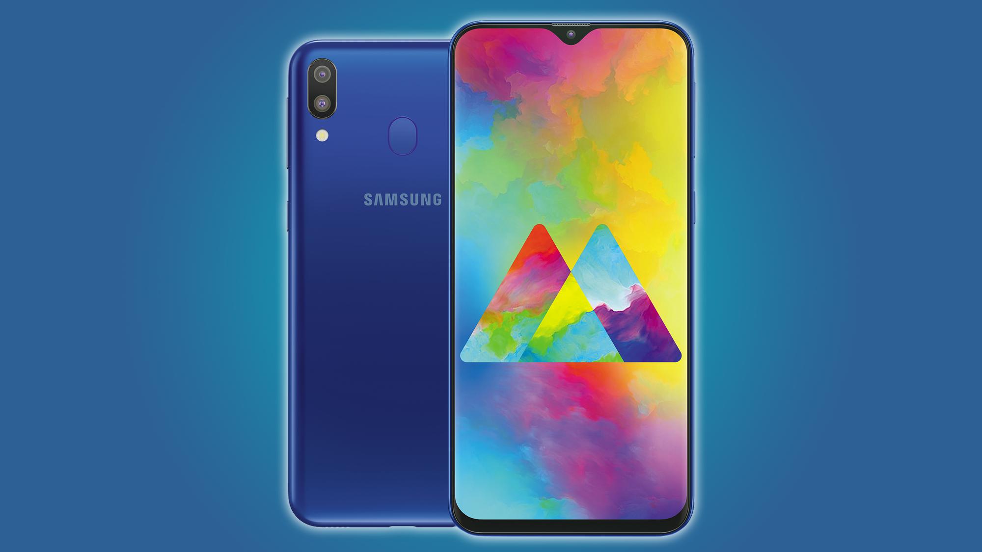 Samsung's Galaxy M20 smartphone