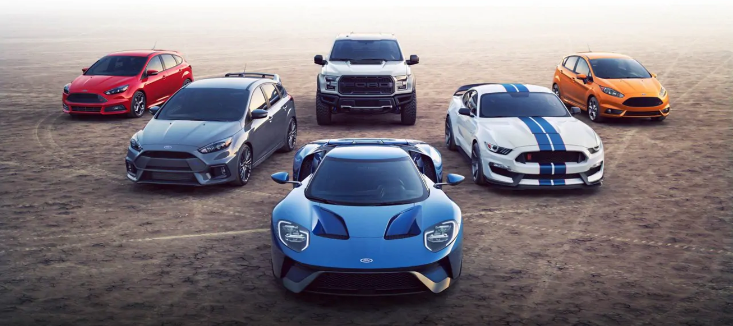 Ford wants you to drool over that GT...but it knows you'll buy the Mustang instead.