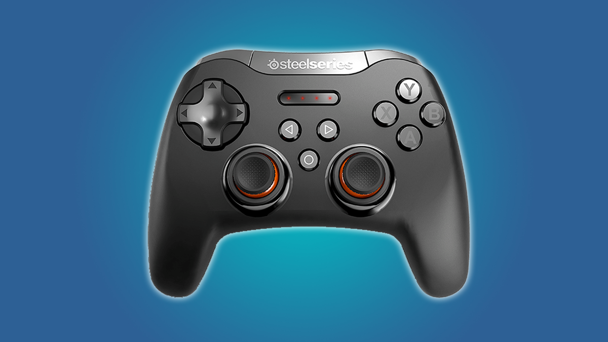This controller works with Android and Windows.