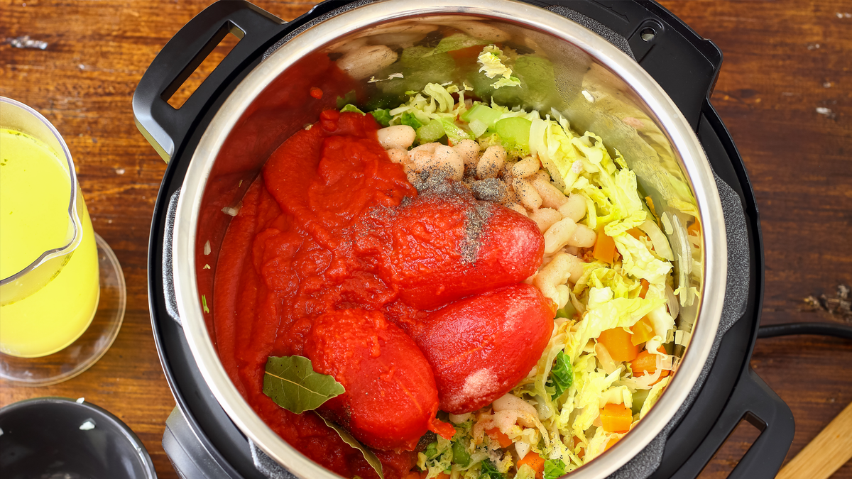 Instant Pots make cooking big meals fast and easy.