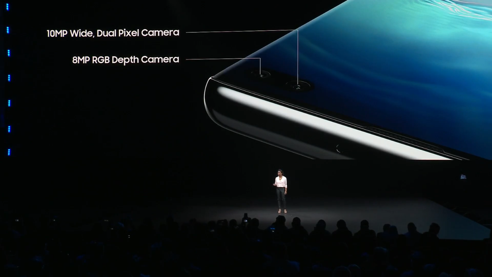 S10 front cameras