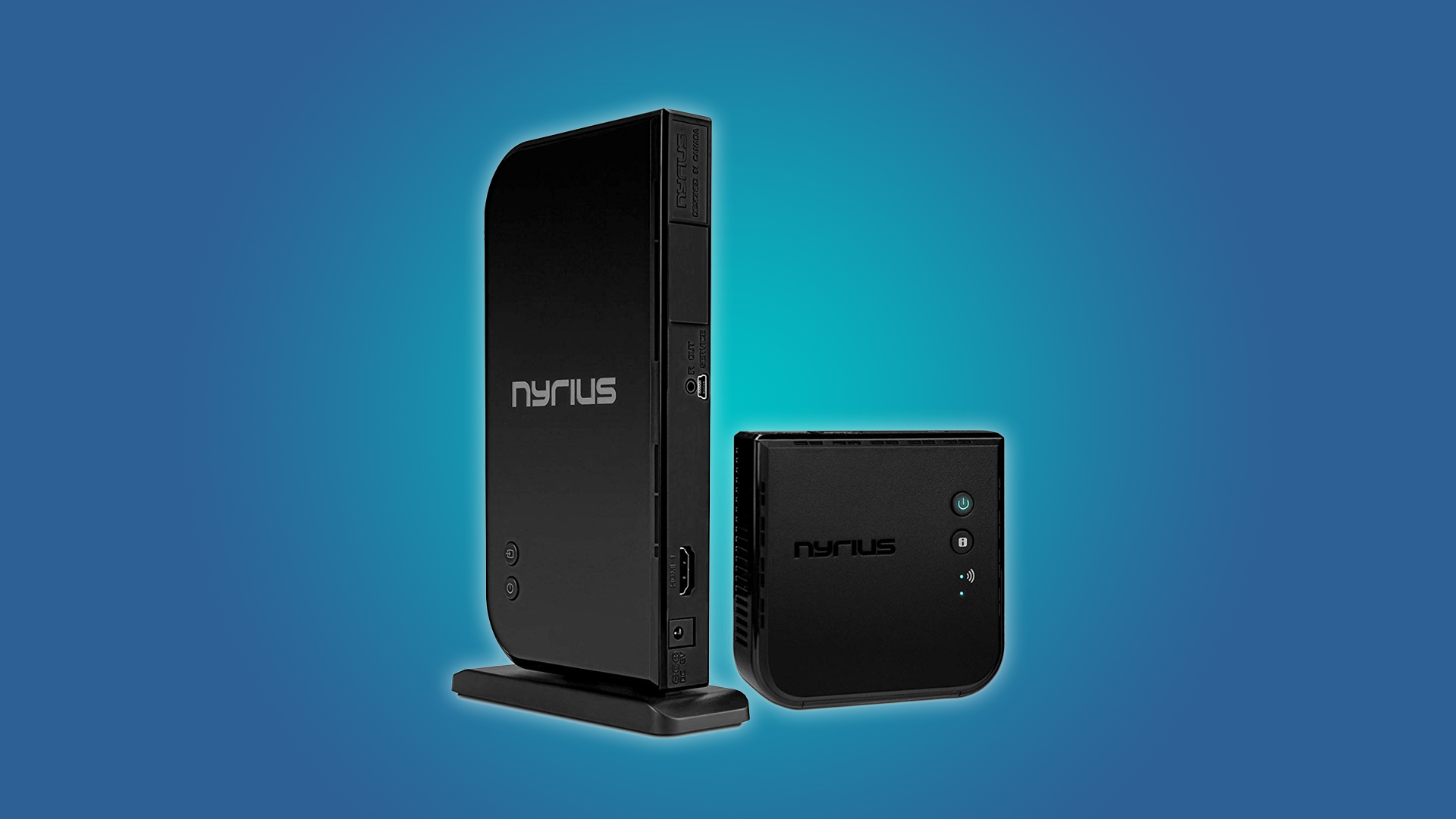 The Nyrius ARIES NAVS500 transmitter and reciever