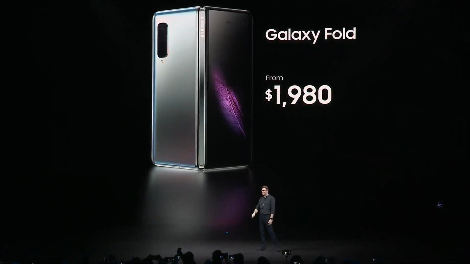 Samsung's Galaxy Fold will have a huge screen and price tag.