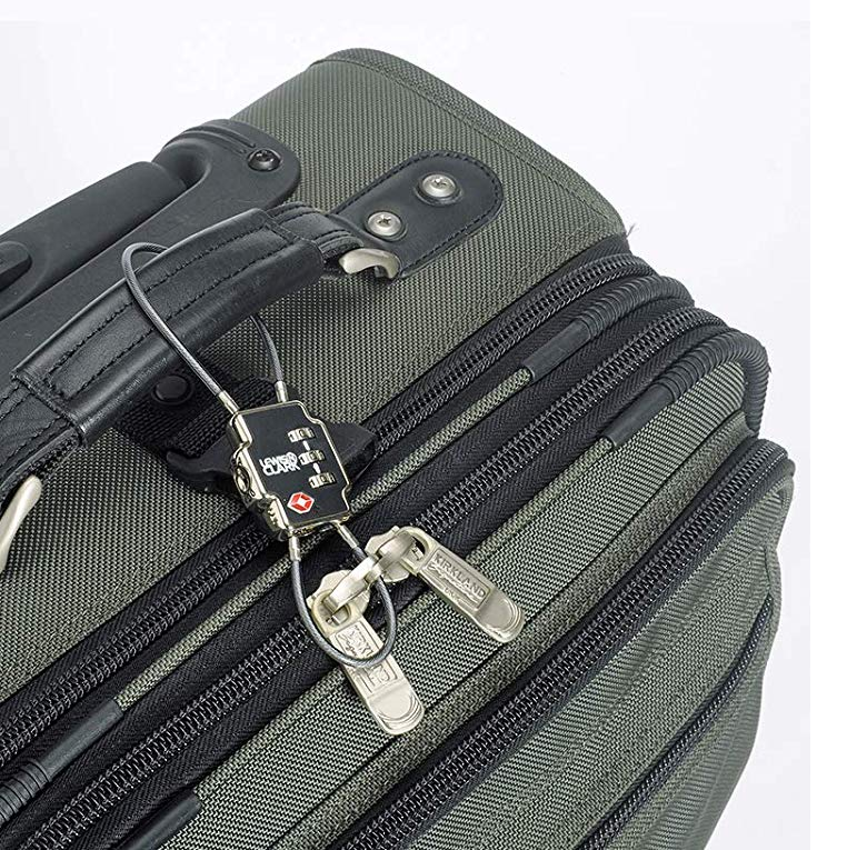 This TSA-approved lock is cheap and versatile.