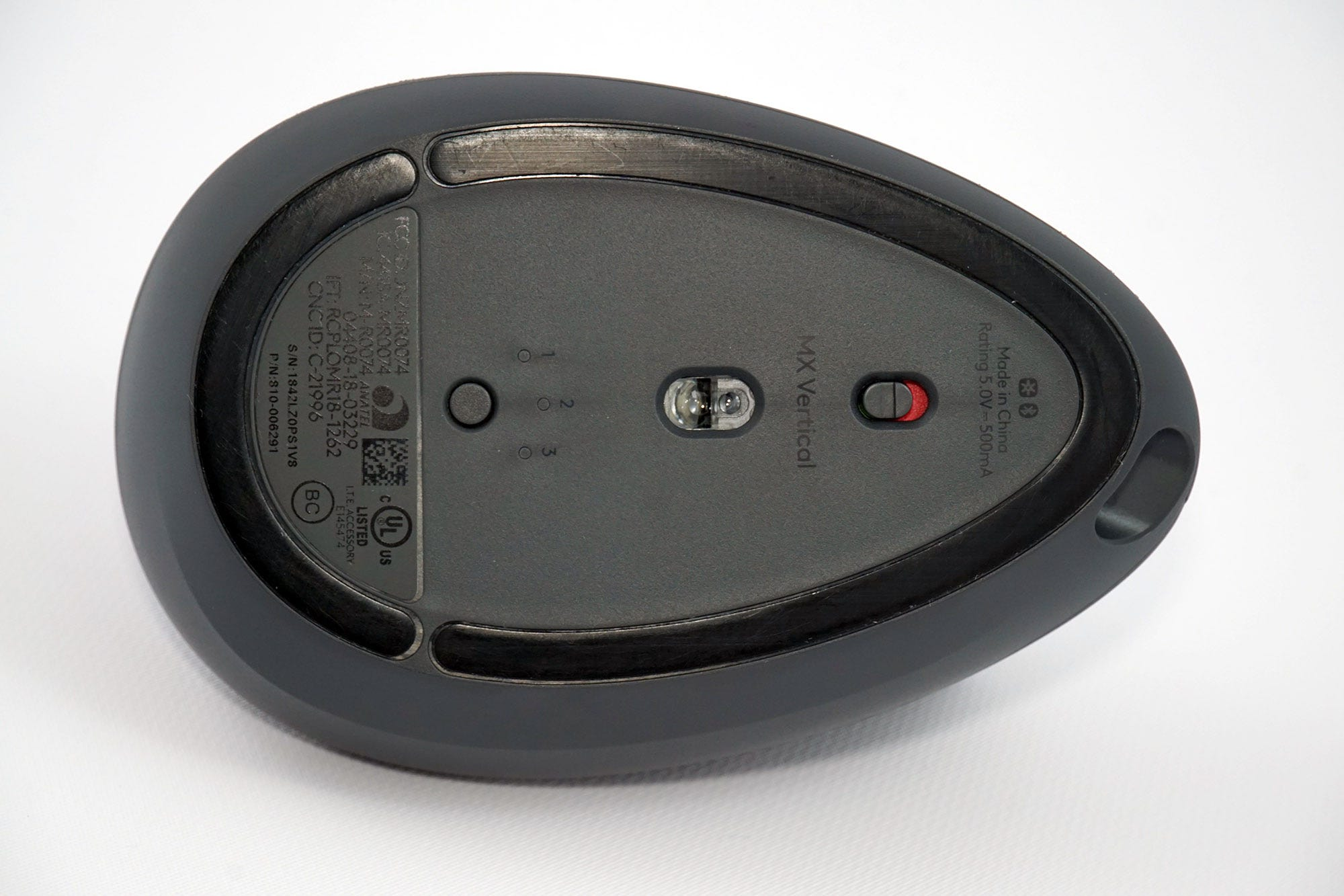 Like most of Logitech's more expensive hardware, the MX Vertical pairs with up to three computers via wireless USB or Bluetooth.