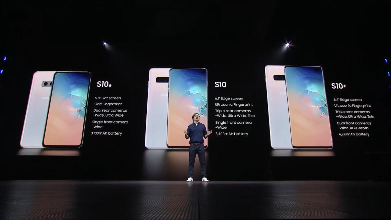 Lernen Sie die Galaxy S 10-Familie kennen: Galaxy S10, S10 Plus, S10 5G und S10E