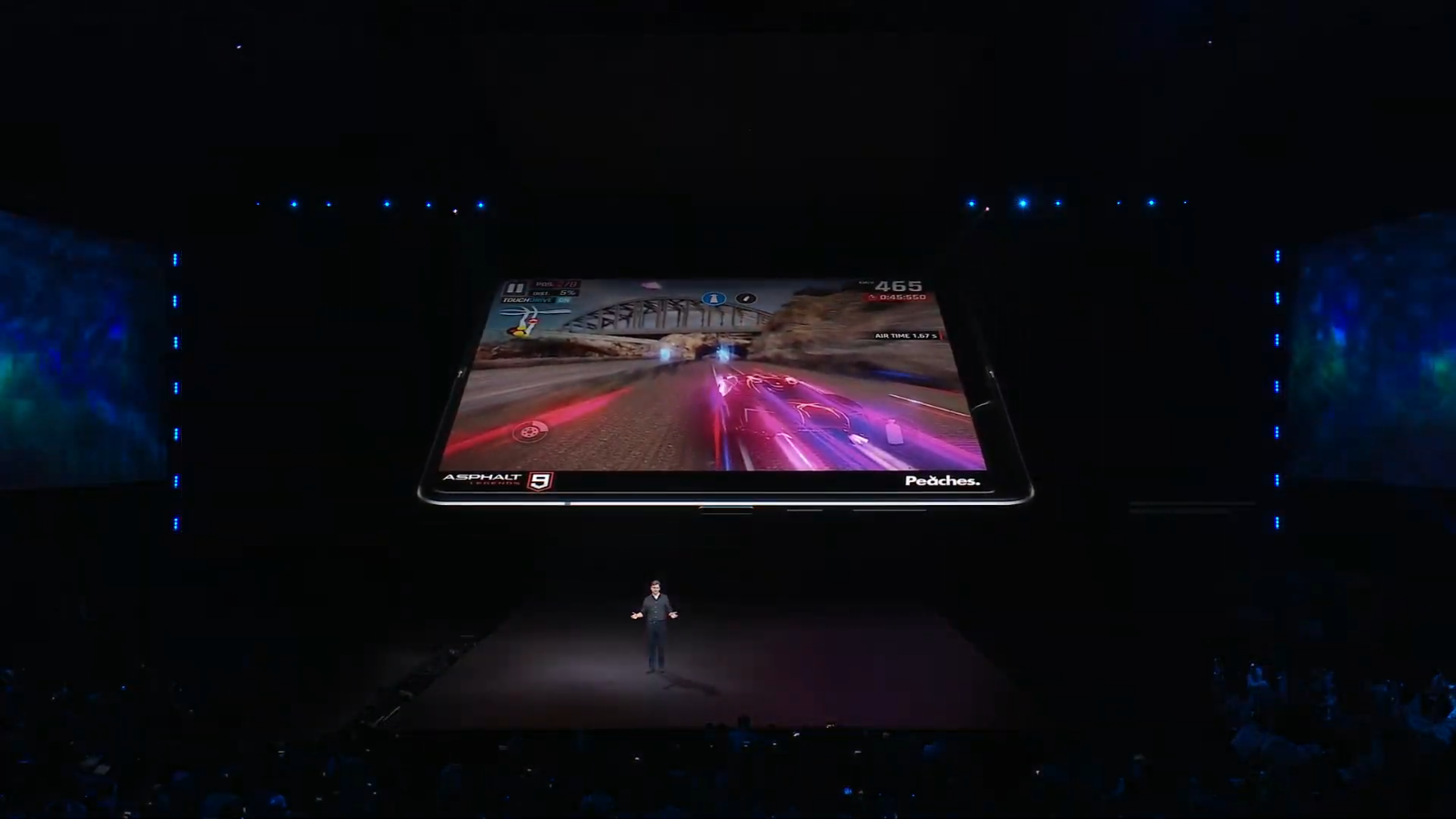The Galaxy Fold features a 7nm processor.
