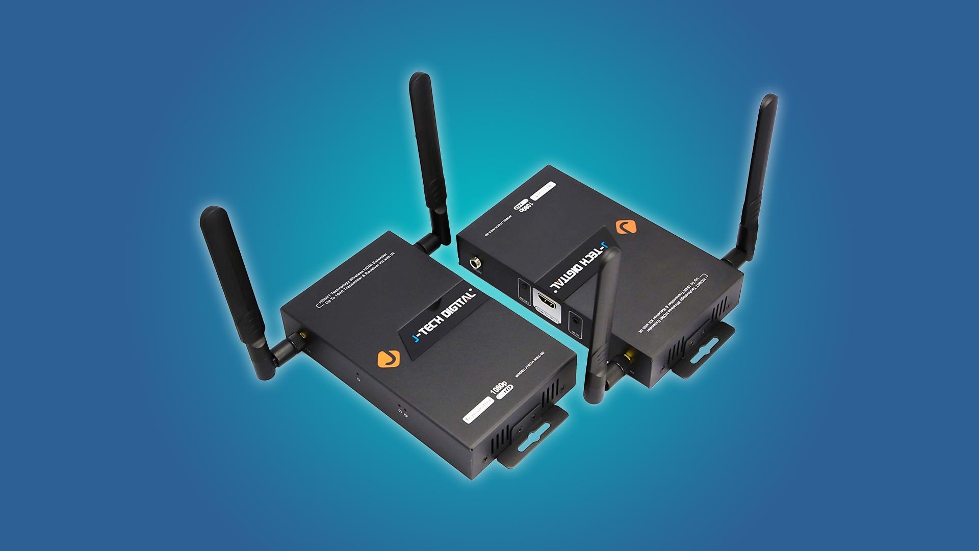 The J-Tech Digital HDbitT transmitter and reciever