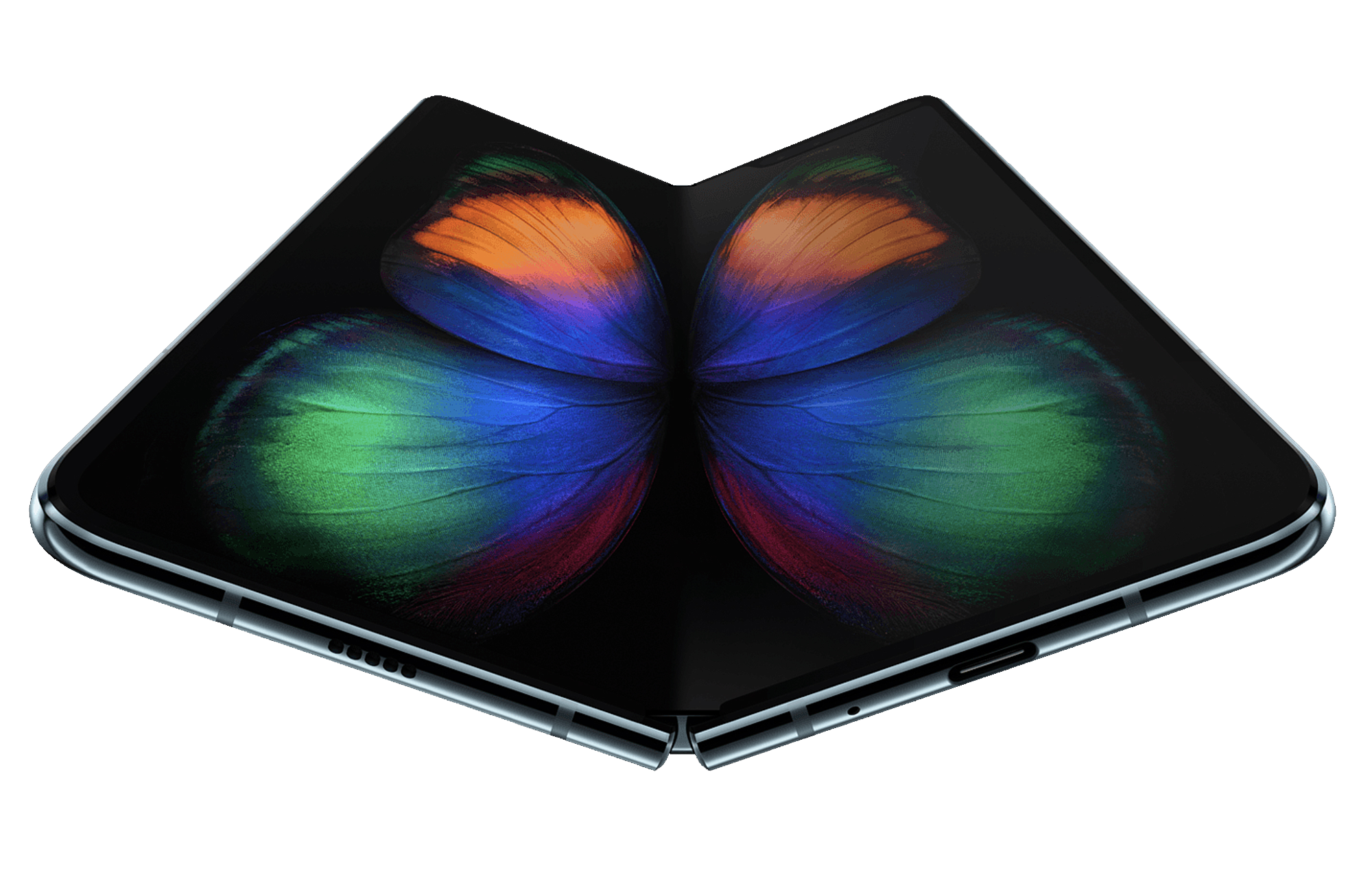 The Samsung Galaxy Fold will arrive in April.