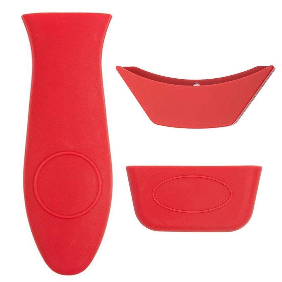 Evoio 3 Pack Silicone Hot Handle Holder