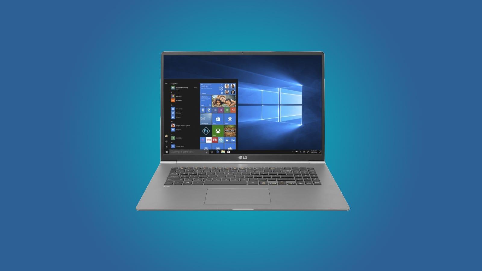 LG gram 17 Review  The Lightest 17-inch Laptop Around – Review Geek 33c34d8e5494e