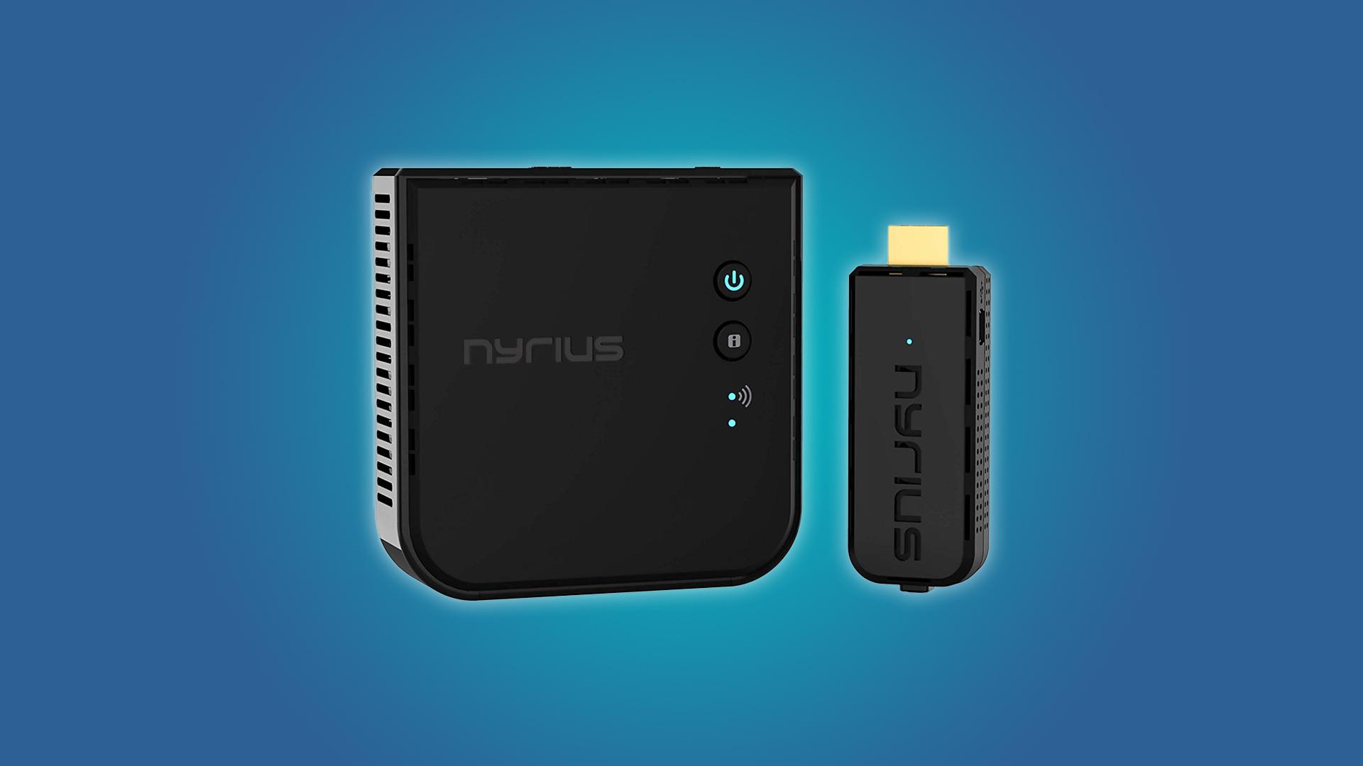 The Nyrius ARIES NPCS549 transmitter and reciever