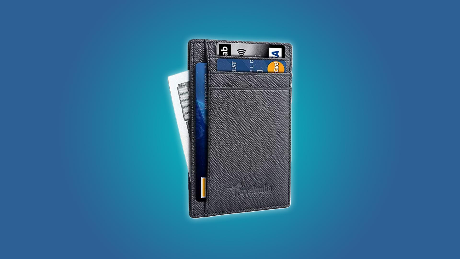 Travelambo Slim RFID-Blocking Wallet