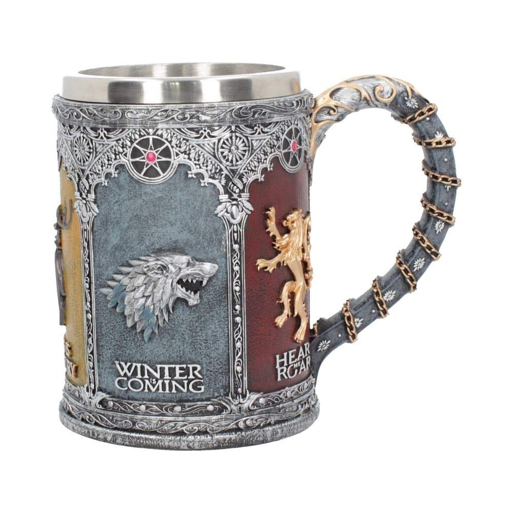 This collectible stein is adorned with the mottos of the great Houses.