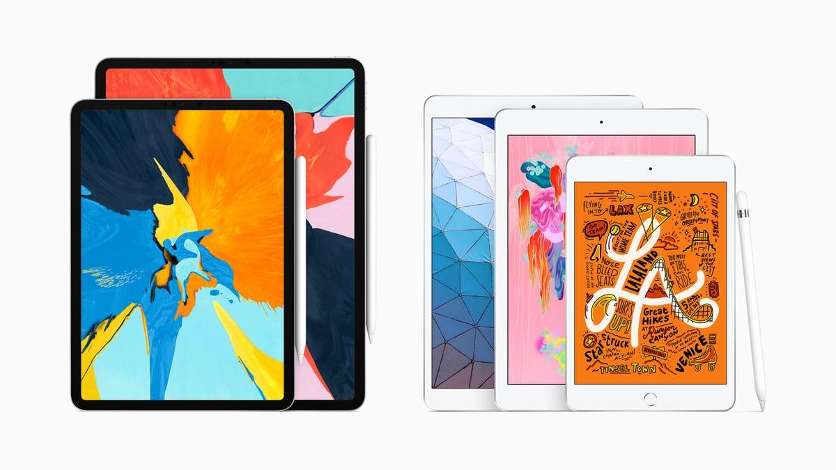Apple iPad Air and Mini