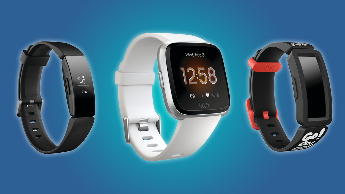 Fitbit Inspire HR, Versa Lite, and Ace 2