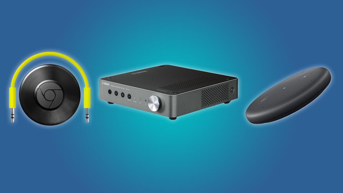 Chromecast Audio, Echo Input, and Yamaha WXC50