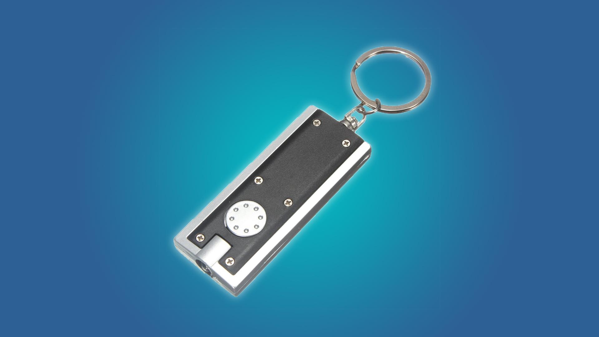 The Mecco keychain flashlight
