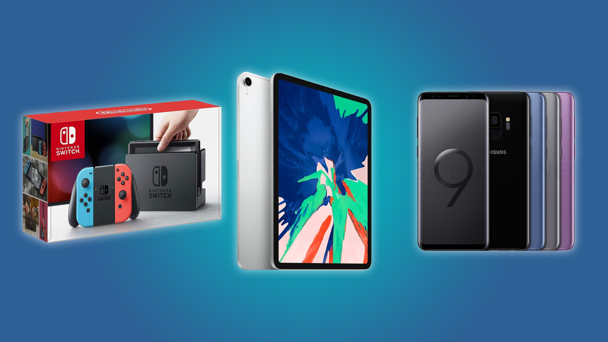 The Nintendo Switch, the iPad Pro, and the Galaxy 9
