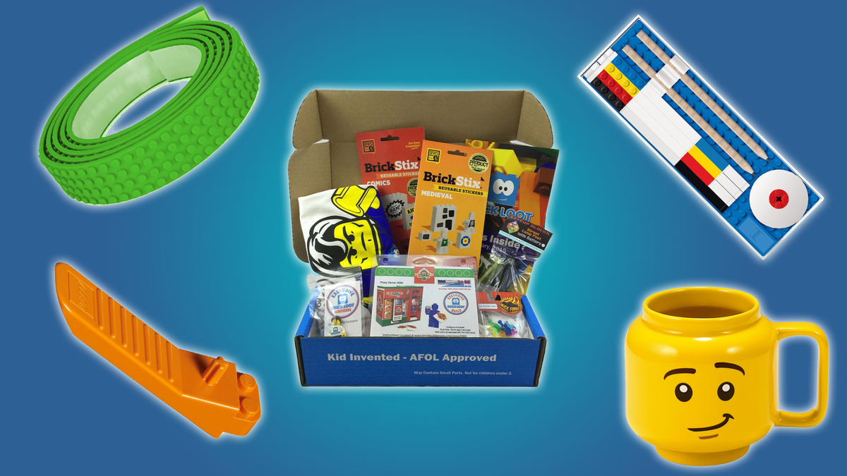 A selection of great gifts for LEGO fans, when you can't track down that new set.