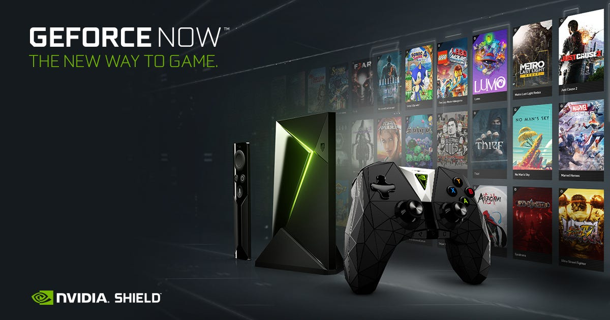 NVIDIA's GeForce NOW service streams PC games over the Internet.