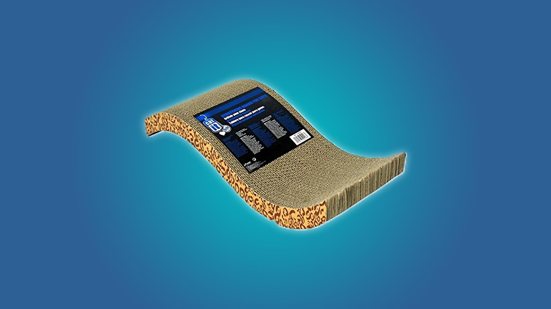 The Catit Cardboard Scratcher
