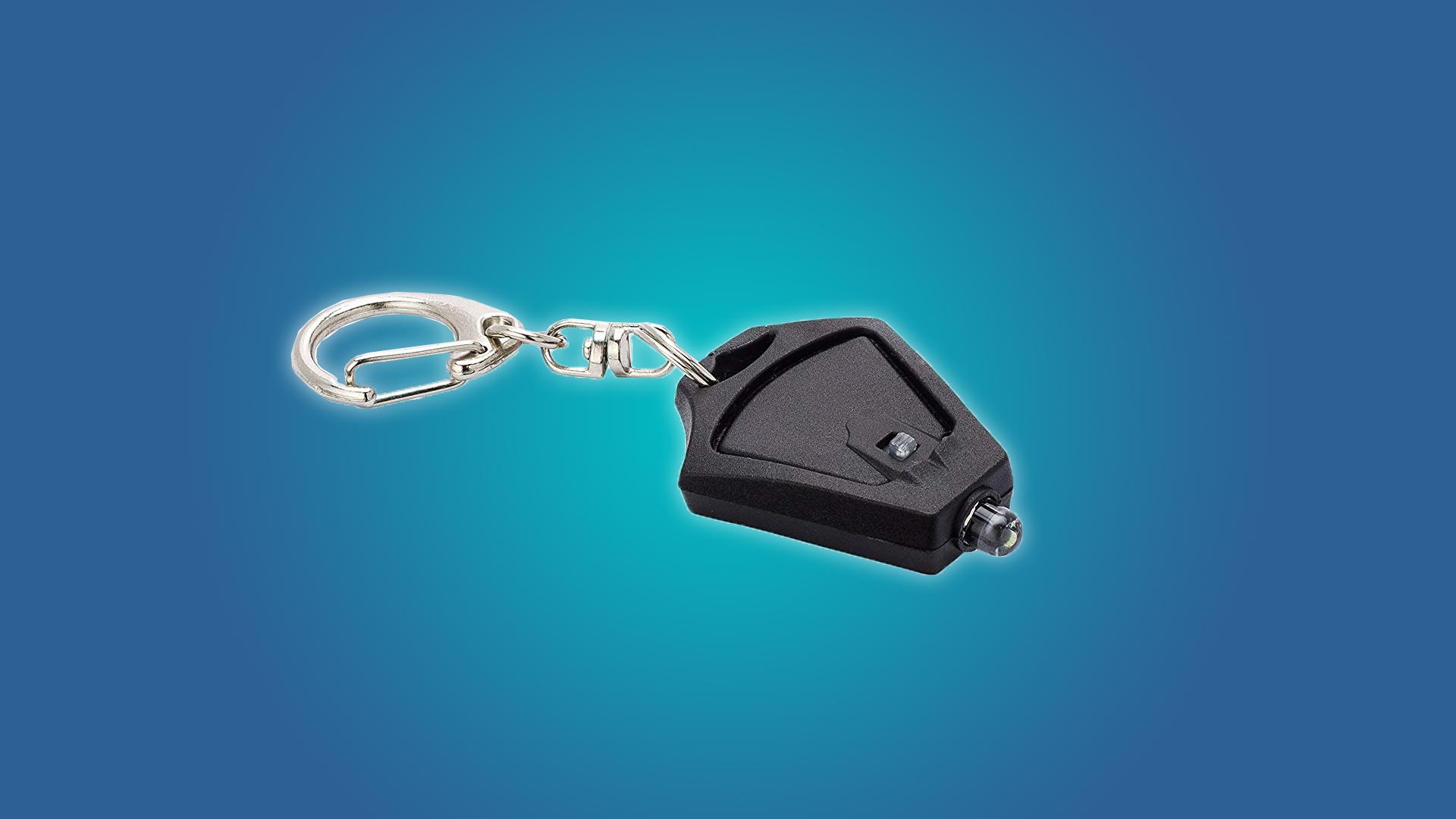THe Finware Micro Light LED Keychain Flashlight 5-Pack