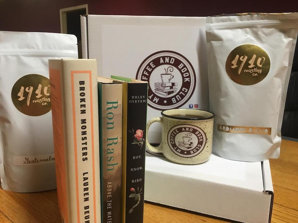 My Coffee and Book Subscription Box