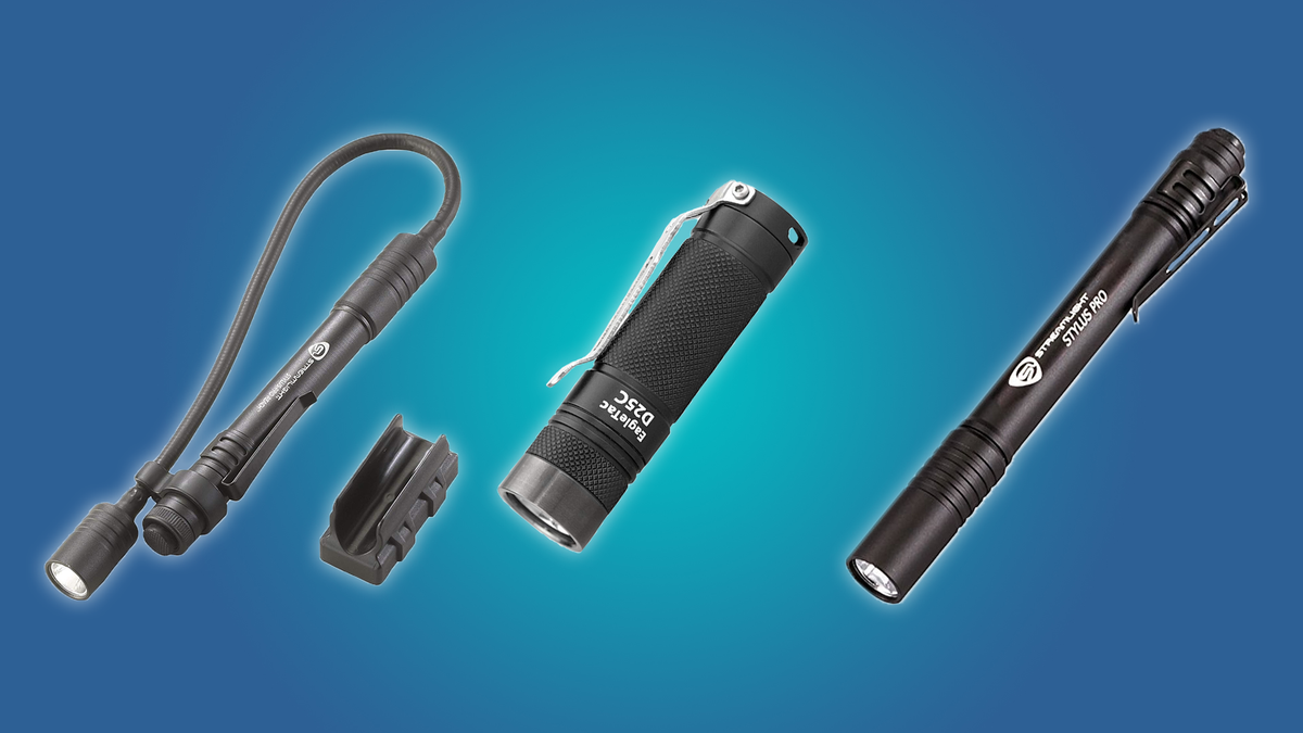 The Streamlight 661188, the Streamlight 66418, and the EagleTac D25C