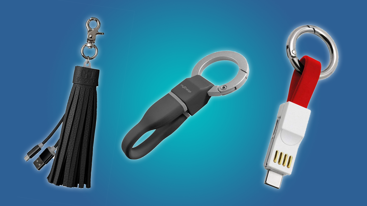 The Power4, MyCharge, and Gee Gadgets keychain cables