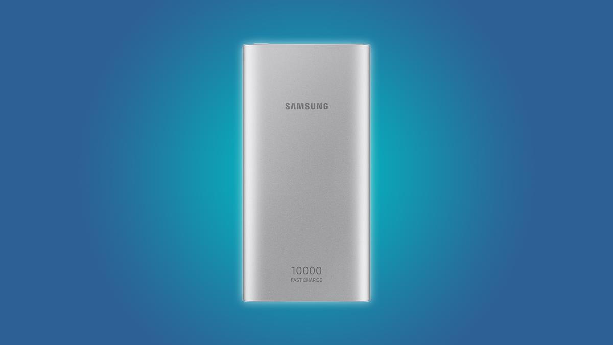 The Samsung 10,000 mAh power bank