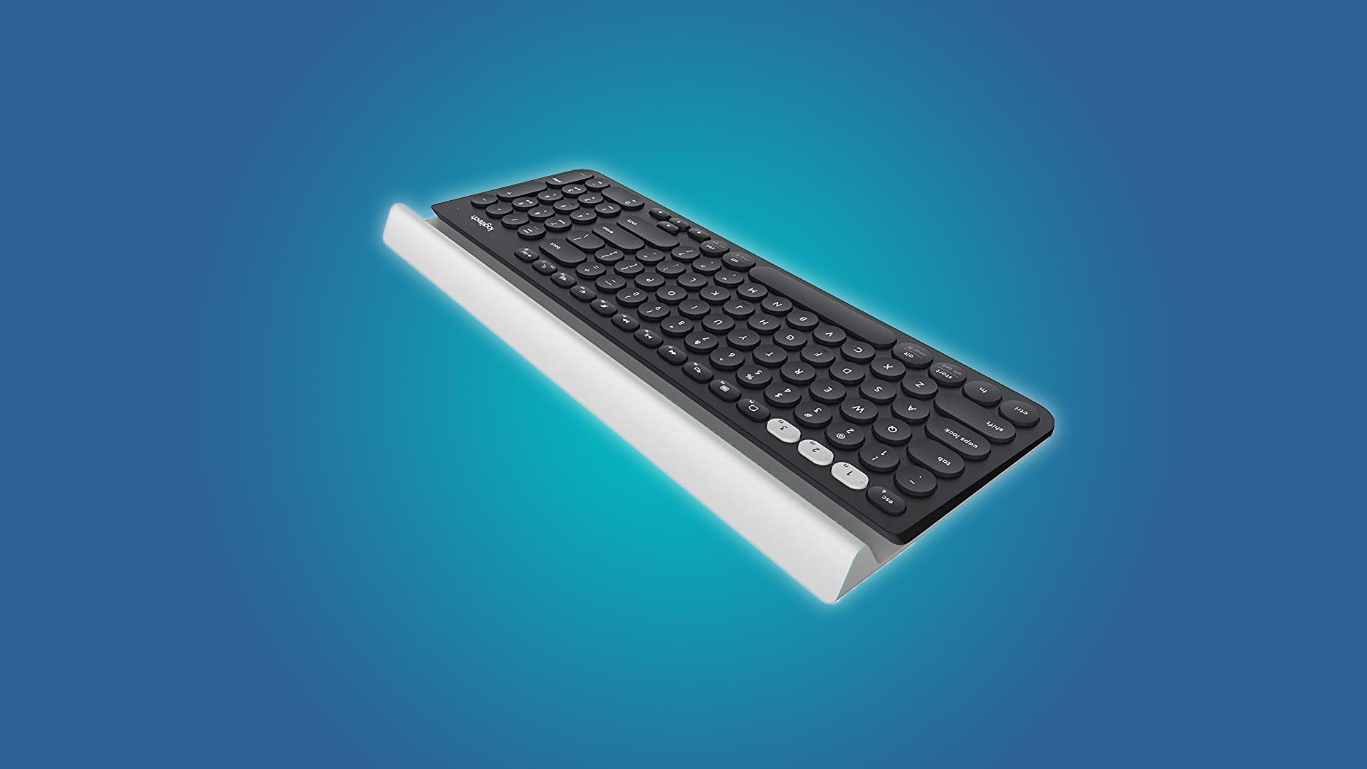 The Logitech K780 Wireless Keyboard