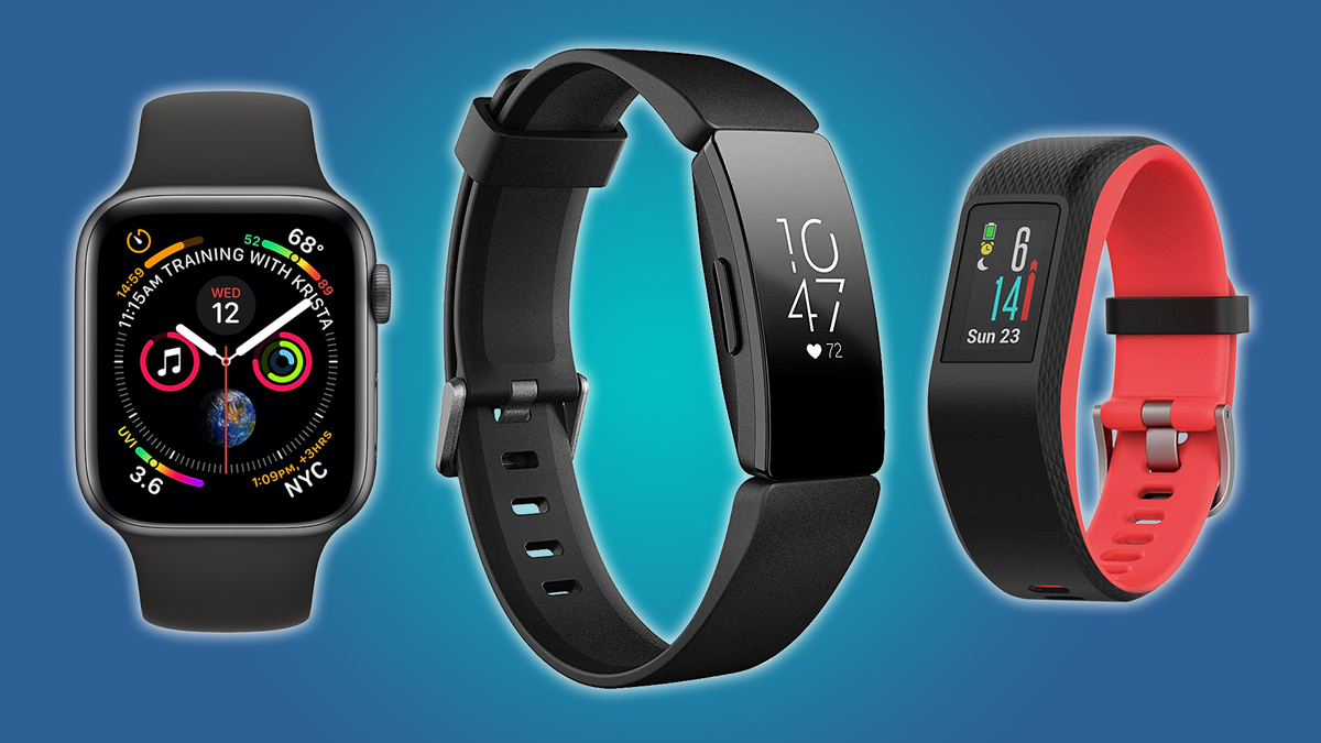 These fitness trackers include heart rate monitoring features.